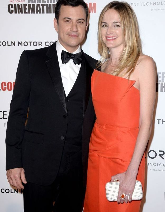 Jimmy Kimmel et Molly McNearny