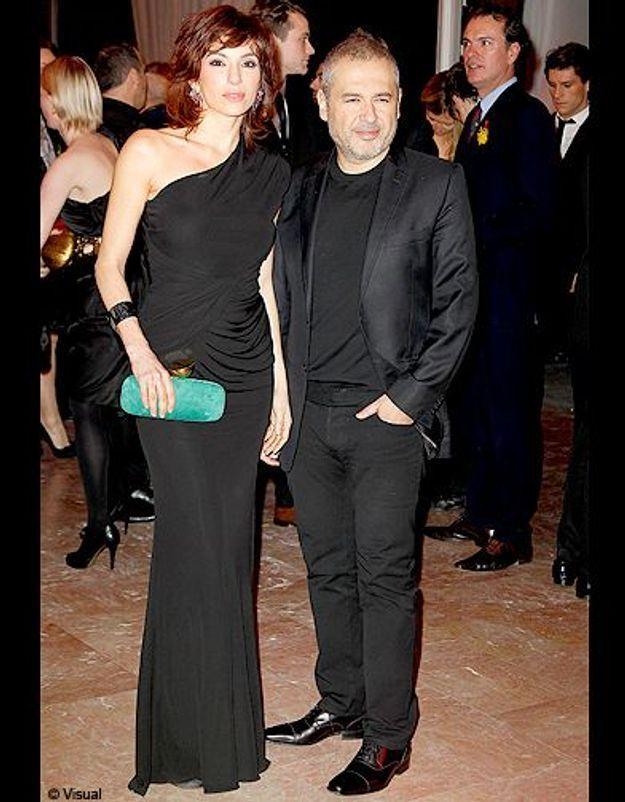Aure Atika et le créateur Elie Saab