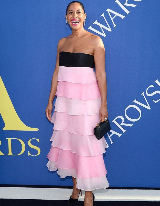 Tracee Ellis Ross en Carolina Herrera