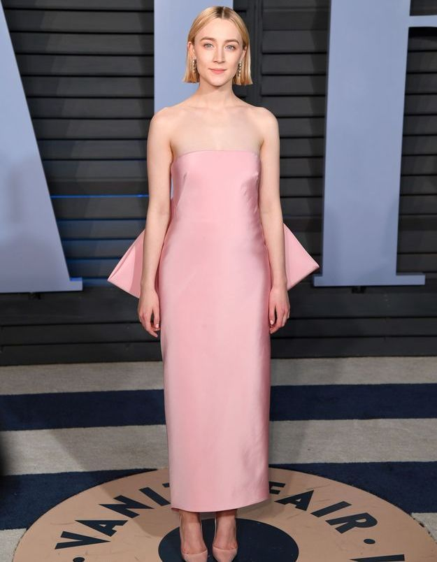 Saoirse Ronan  en Calvin Klein