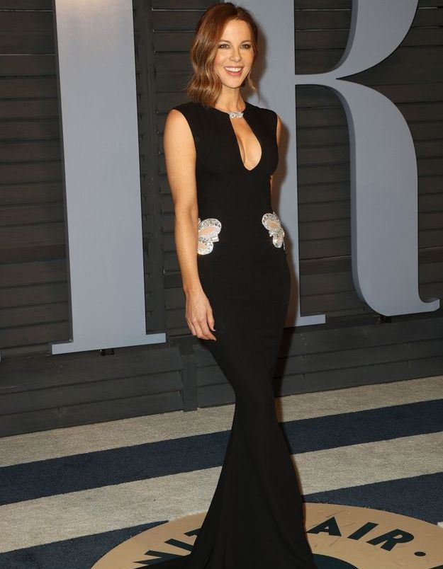 Kate Beckinsale en Reem Acra