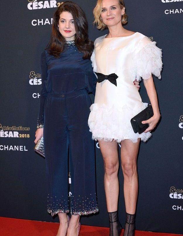 Diane Kruger et Ester Garrel
