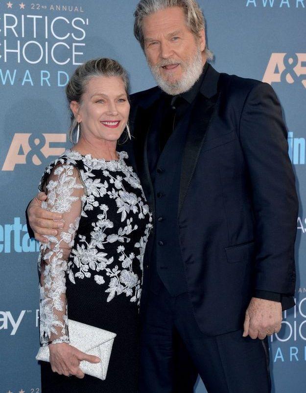 Jeff Bridges et Susan Getson