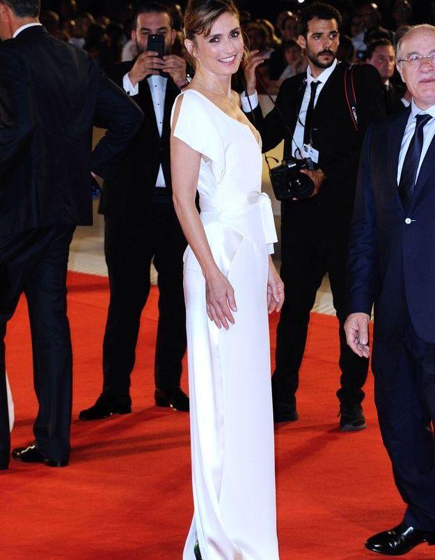Julie Gayet en Vivienne Westwood Couture