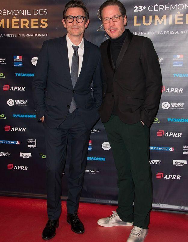 Michel Hazanavicius et Reda Kateb