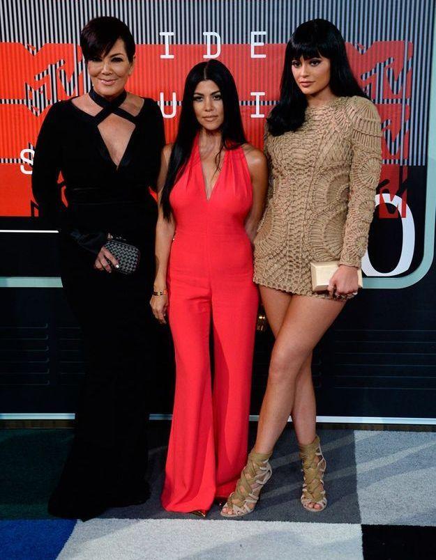 Kris et Kylie Jenner et Kourtney Kardashian