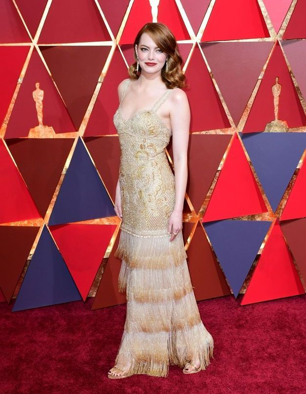Emma Stone en Givenchy
