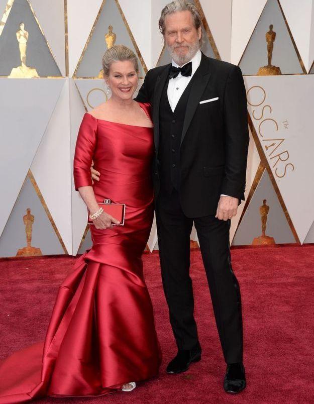 Jeff Bridges et Susan Geston