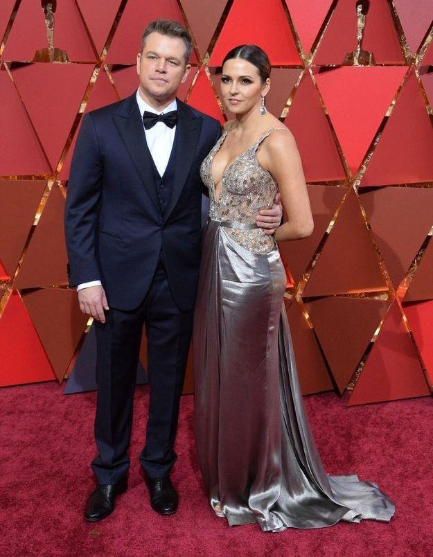 Matt Damon et Luciana Barrso