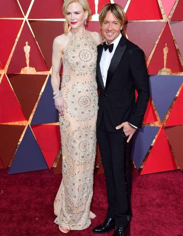 Nicole Kidman en Armani Privé et Keith Urban