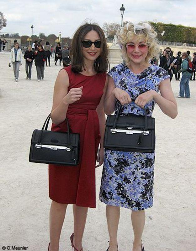 Elsa Zylberstein et Julie Depardieu