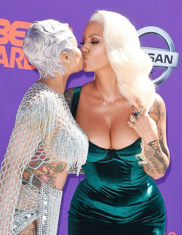 Blac Chyna et Amber Rose