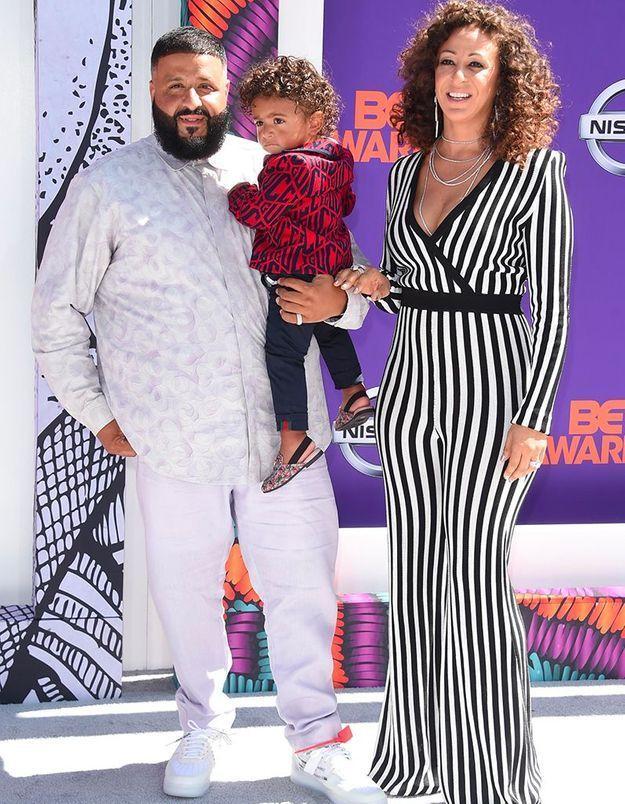 DJ Khaled, Nicole Tuck et leur fils