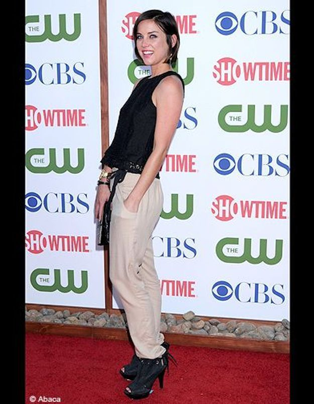 People tapis rouge soiree cbs jessica stroup