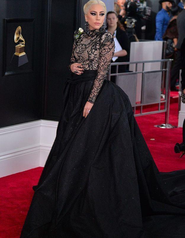 Lady Gaga en Armani Privé
