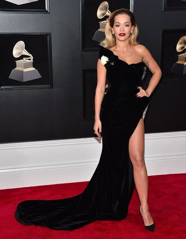 Rita Ora en Ralph & Russo Couture