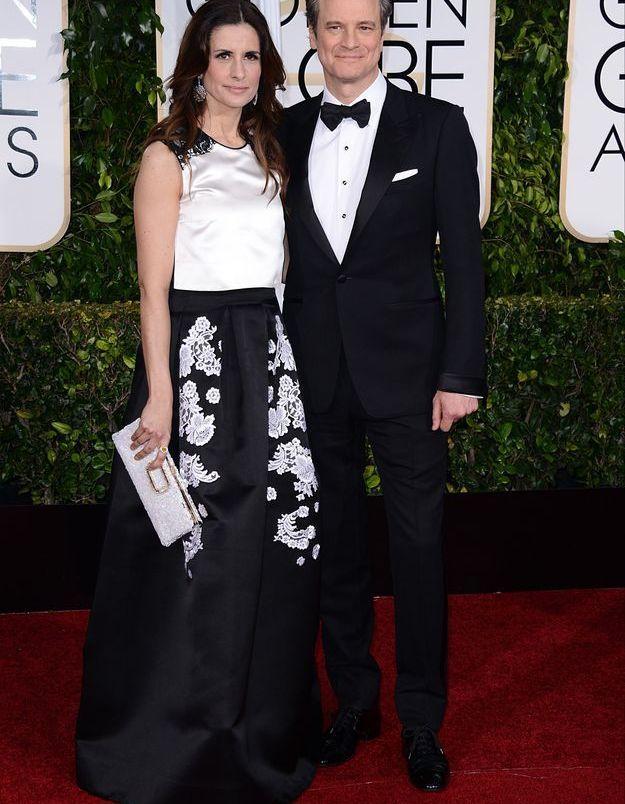 Colin Firth et son épouse Livia