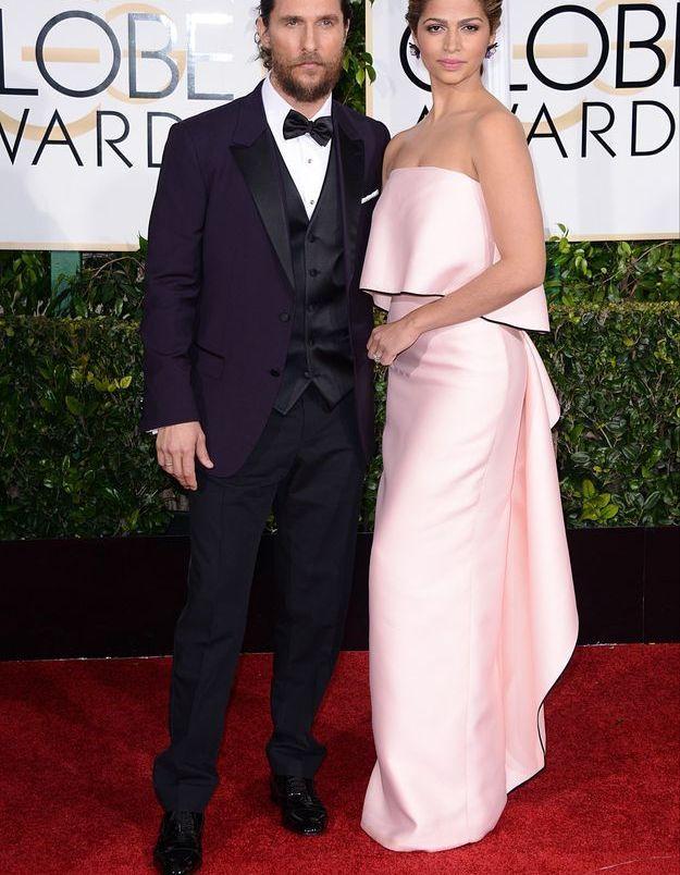 Matthew McConaughey et Camila Alves