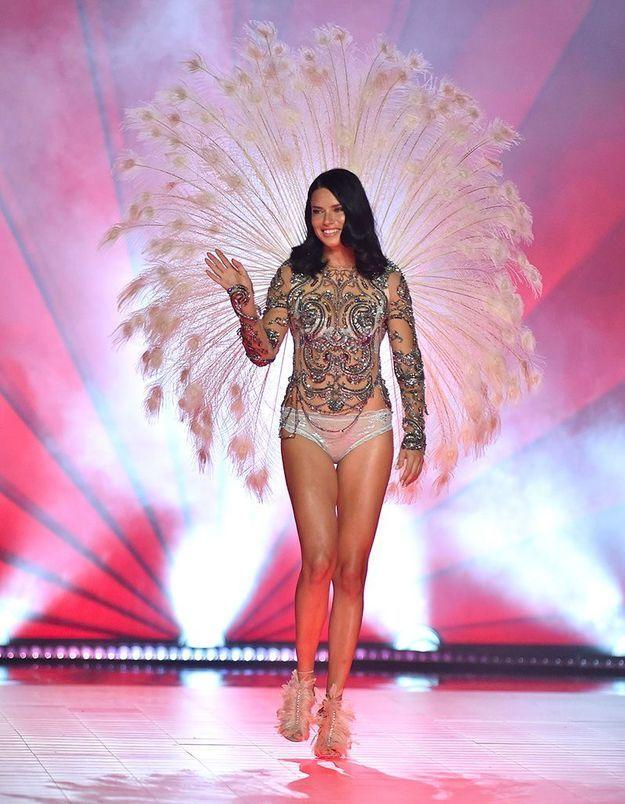 Les adieux d'Adriana Lima