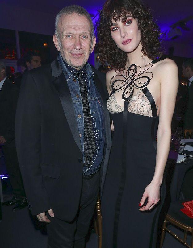 Jean-Paul Gaultier et Maud Lefort