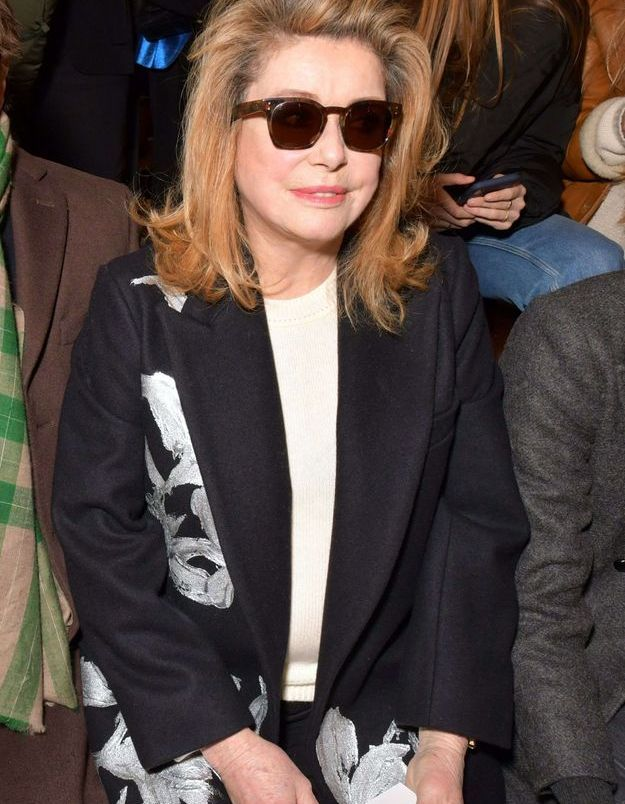 Catherine Deneuve au défilé Dries Van Noten