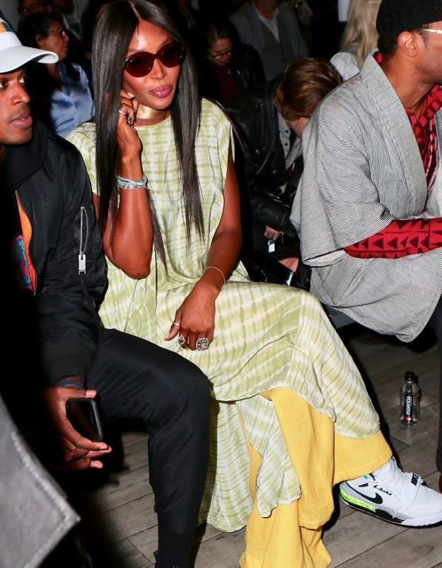 Naomi Campbell au défilé Studio 189