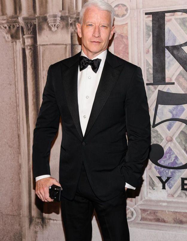 Anderson Cooper au défilé Ralph Lauren