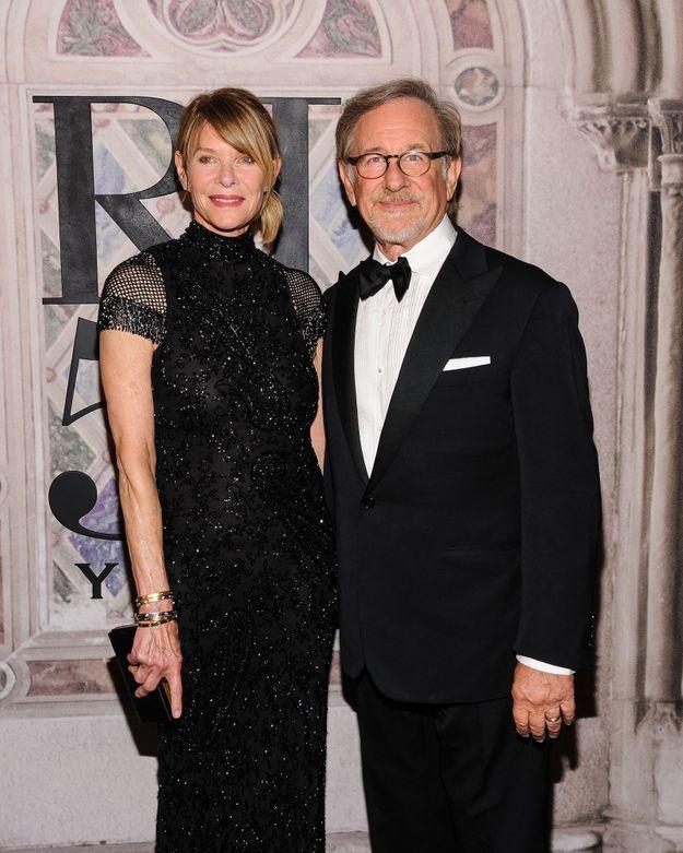 Kate Capshaw et Steven Spielberg