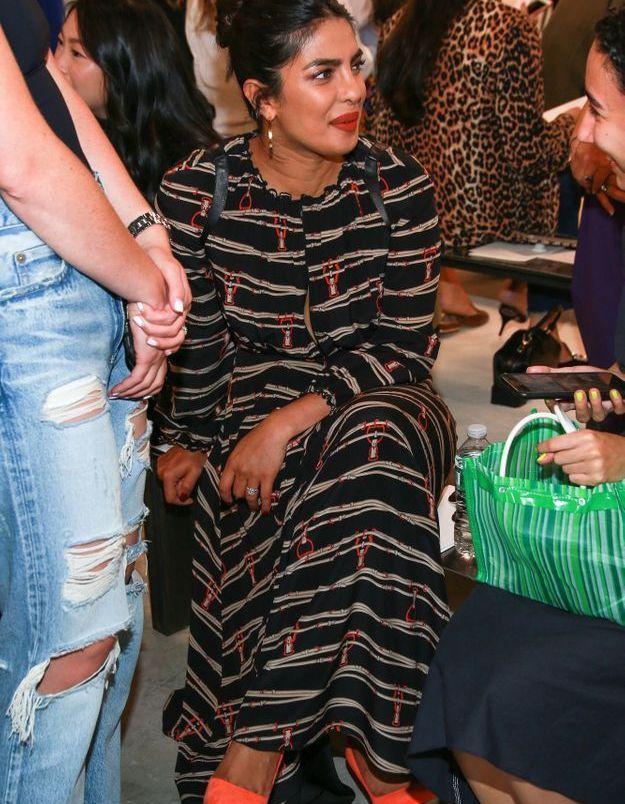 Priyanka Chopra au défilé Longchamp