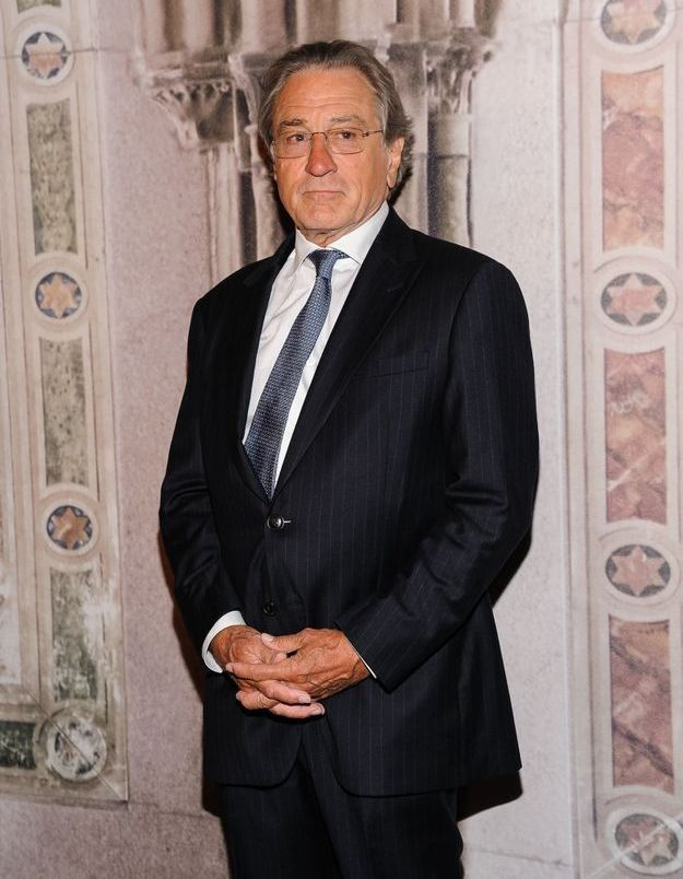 Robert De Niro au défilé Ralph Lauren