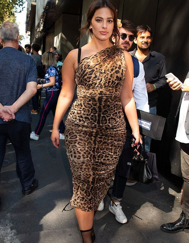 Ashley Graham au défilé Dolce & Gabbana