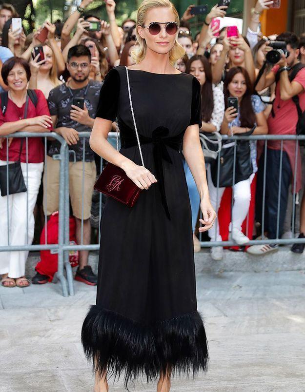 Poppy Delevingne au défilé Dolce & Gabbana