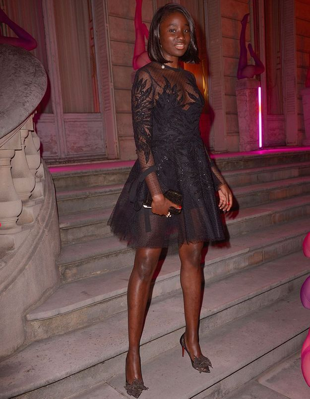 Karidja Touré à la Scandal Party de Jean Paul Gaultier