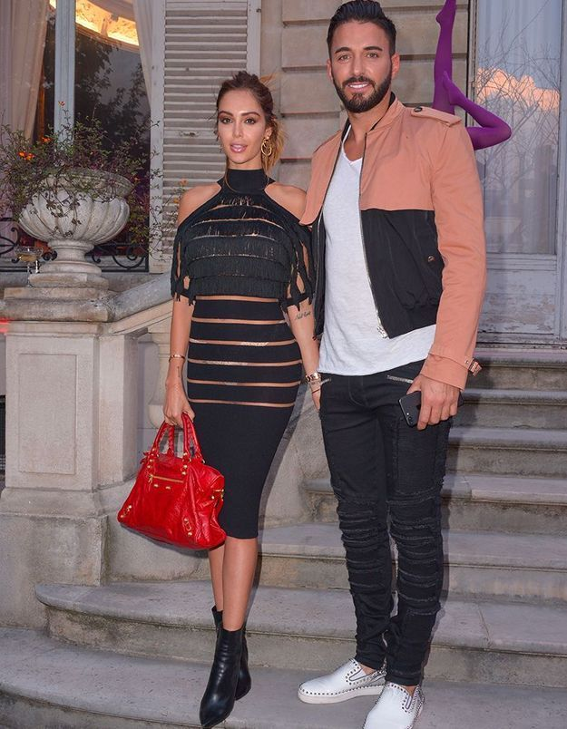Nabilla et Thomas à la Scandal Party de Jean Paul Gaultier
