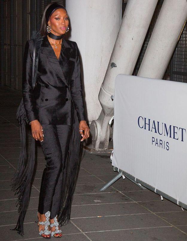 Naomi Campbell à la soirée Chaumet