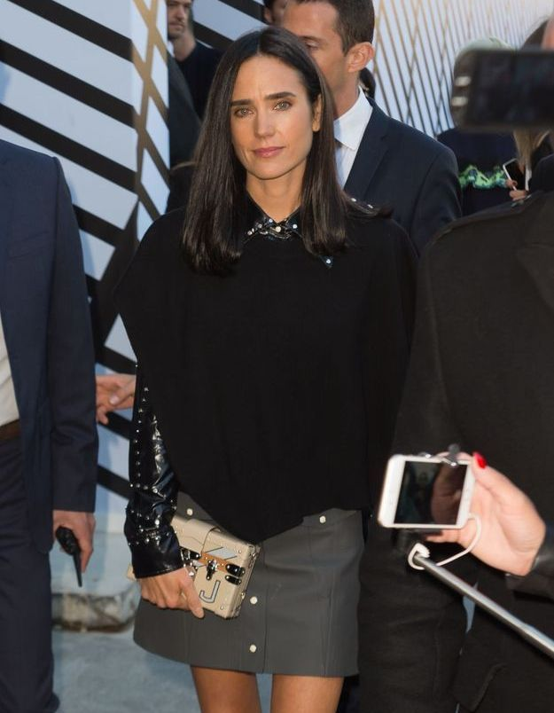 Jennifer Connelly au défilé Louis Vuitton