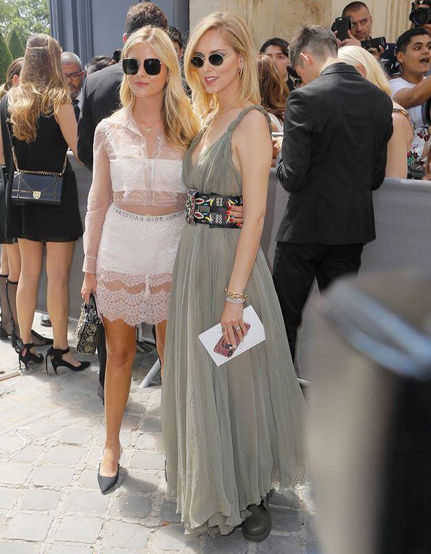 Valentina et Chiara Ferragni
