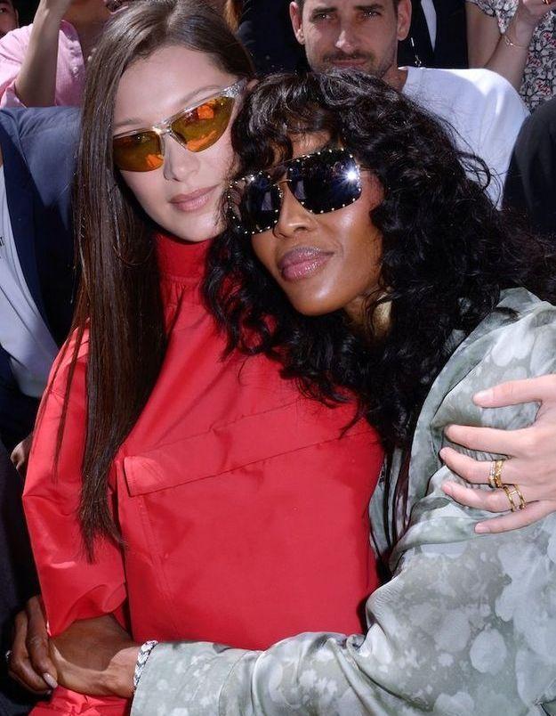 Bella Hadid et Naomi Campbell