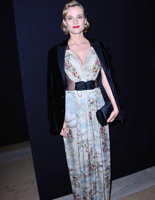Diane Kruger au défilé Armani Privé