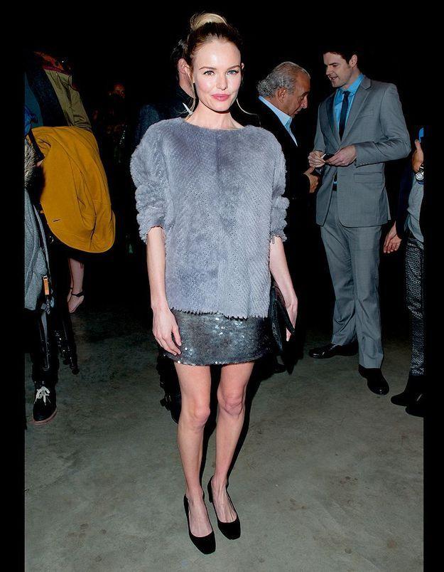 Kate Bosworth au défilé Topshop Unique automne-hiver 2013-2014