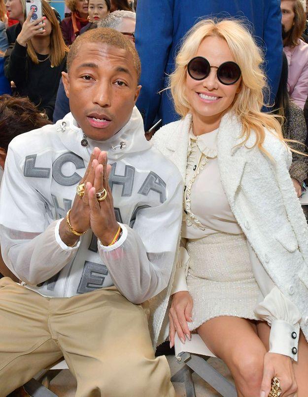 Pharrell Williams et Pamela Anderson