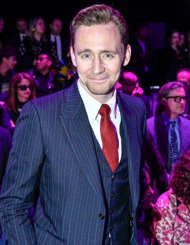 Tom Hiddleston au défilé Gucci