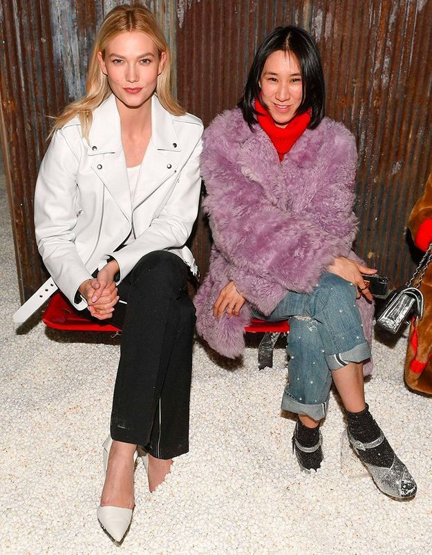 Karlie Kloss et Eva Chen