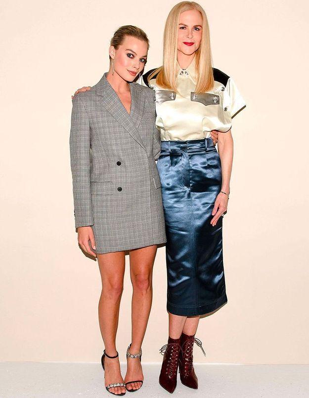 Margot Robbie et Nicole Kidman