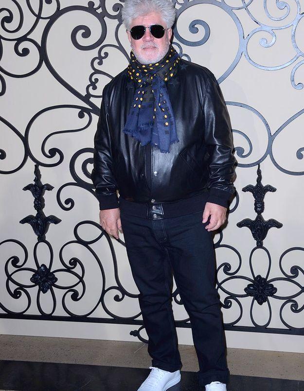 Pedro Almodovar au défilé Givenchy