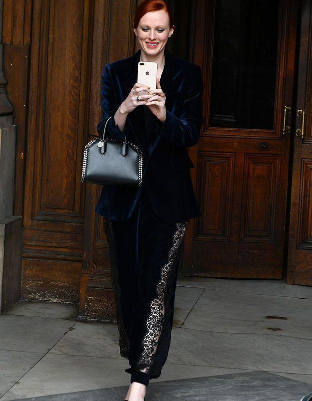 Karen Elson au défilé Stella McCartney