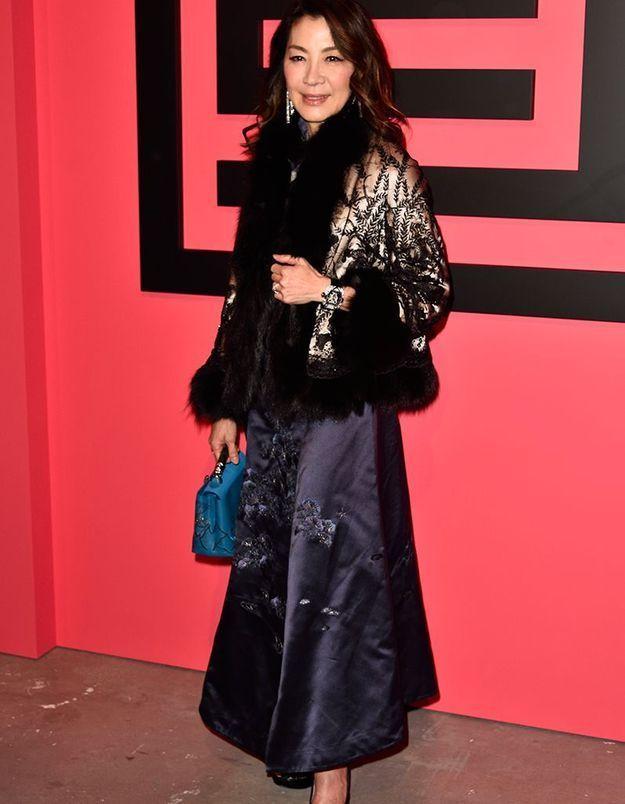 Michelle Yeoh au défilé Shiatzy Chen