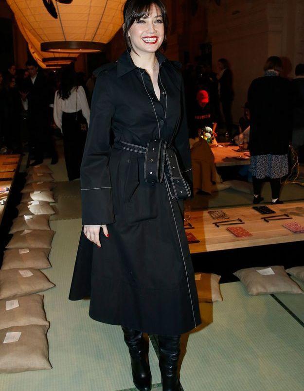Daisy Lowe au défilé H&M Studio