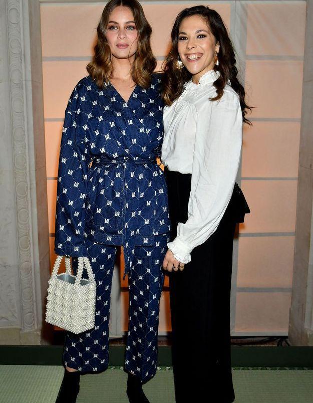 Marie-Ange Casta et Alysson Paradis au défilé H&M Studio