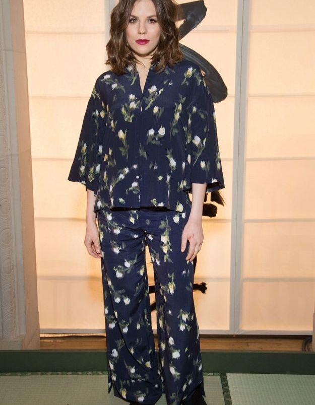 Morgane Polanski au défilé H&M Studio